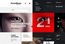 HomeMuse Gallery - Website Design by Sergei Gurov