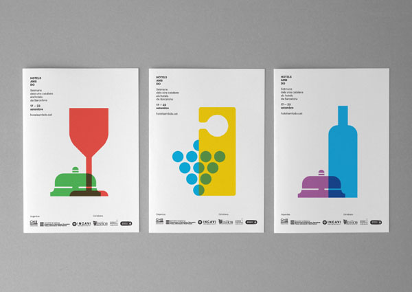 Hotels amb DO - Identity Design by Atipus