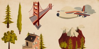 Houses Illustrations by Giordano Poloni for Infographics