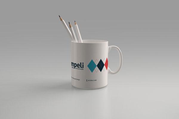Kempeli Design Rebranding - Cup