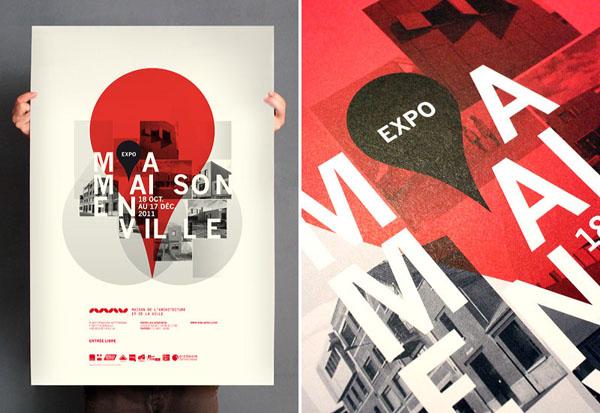 Ma maison en ville - Poster Design by Les produits de l'épicerie