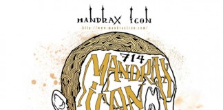 Mandrax Icon Gig Poster Illustration by Anoik