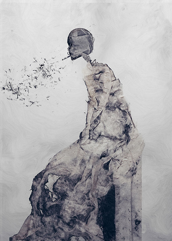 Mixed Media Illustration by Januz Miralles