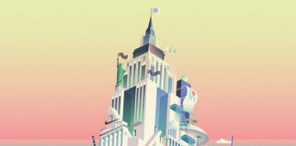 My City Rise and Fall - Editorial Illustration by Cruschiform