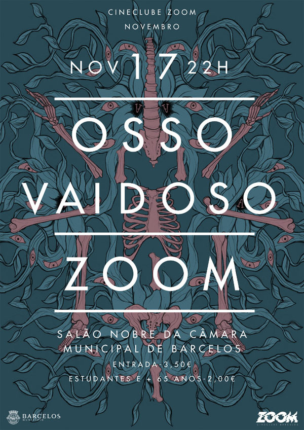 Osso Vaidoso Show Poster Illustration by Anoik