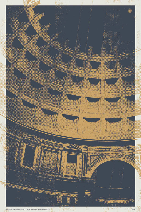 Pantheon Proposed Poster Design by Seth Lunsford
