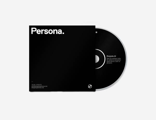 Persona. CD Design