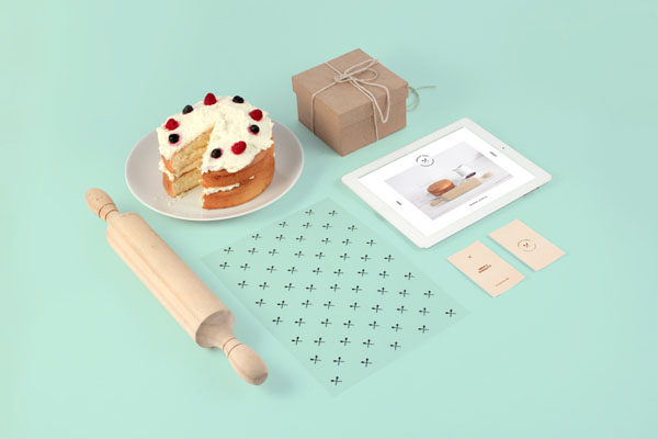 Piece of Cake - Identity and Art Direction by Sorbet
