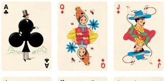 Deck of Playing Cards Illustration by Jonathan Burton