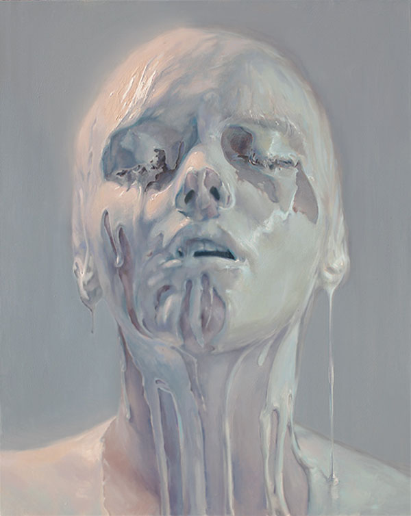 Porcelain Skin - Painting by Ivan Alifan