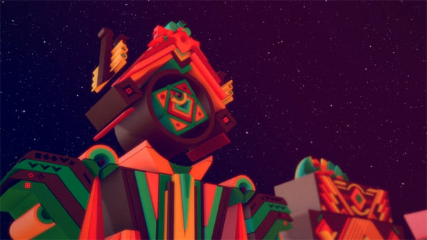 Psychic Land - Motion Graphics by 2veinte