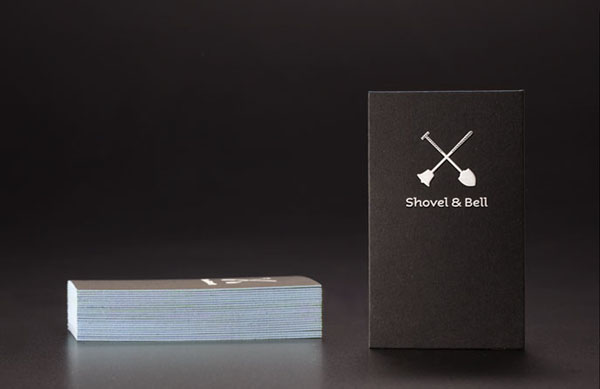 Shovel and Bell - Business Cards by Manic Design
