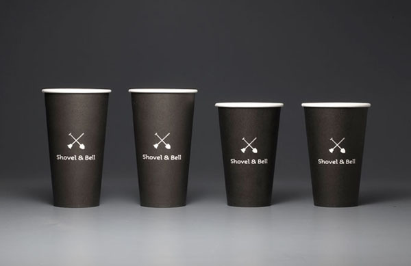 Shovel and Bell gelateria and cafe - mugs by Manic Design