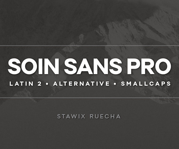 Soin Sans Pro - Font by Stawix Ruecha