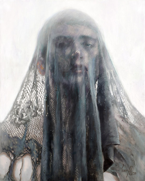 The Veil - Painting by Ivan Alifan