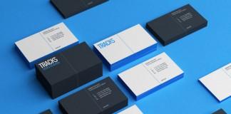 Tracks Business Cards by Noeeko