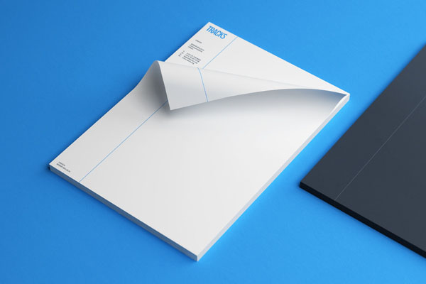 Tracks Stationery by Noeeko