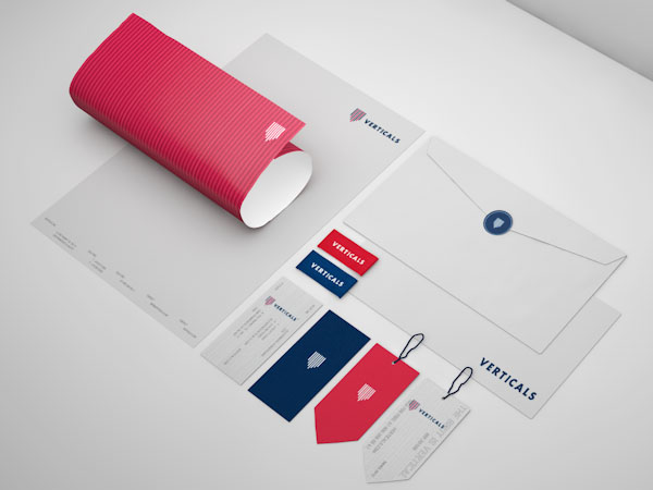 Verticals - Brand Identity by Robinsson Cravents
