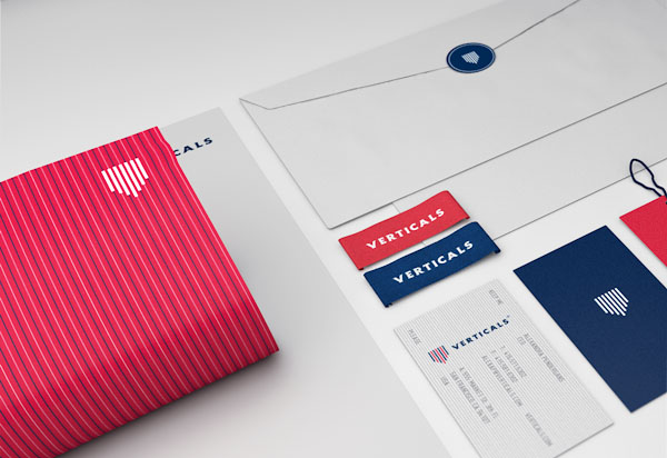 Verticals - Stationery Design by Robinsson Cravents