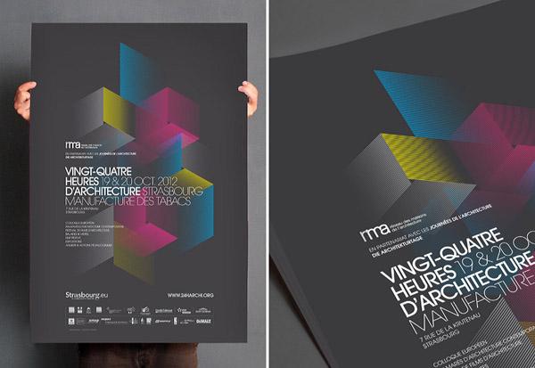 Beautiful ... Vingt Quatre Heures Du0027architecture   Poster Design By Les Produits De Lu0027