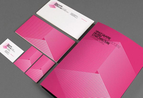 Vingt-Quatre heures d'architecture - Visual Identity by Les produits de l'épicerie