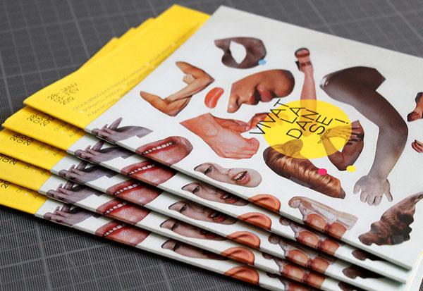 Vivat la danse 2011 - Brochure Design by Les produits de l'épicerie