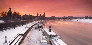 Winter in Dresden Germany Photography by Daniel Řeřicha