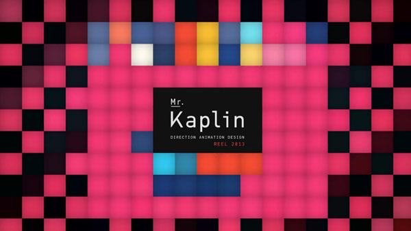 Mr. Kaplin – Motion Graphics Show Reel 2013