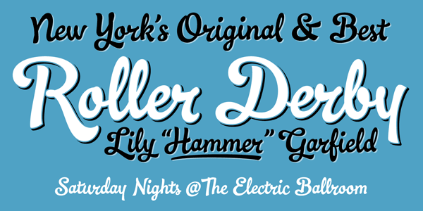 Ollie - Signage Script Font by Dave Rowland (Schizotype)