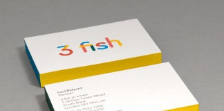 3 fish - Business Cards