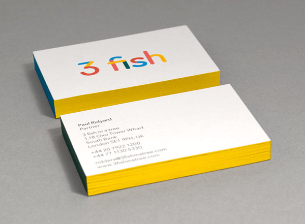 3 fish in a tree - Business Cards