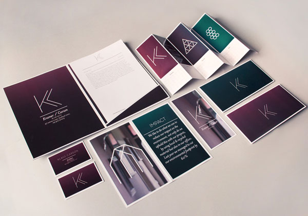 Architecture Brand Identity University Project by Matt Purcell