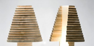 Babele puzzle lamp by design studio MID - manifattura italiana design