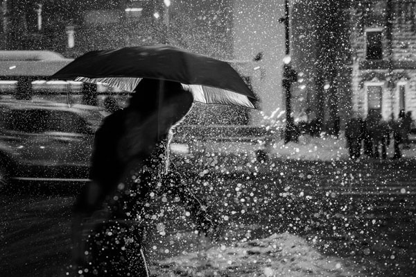 Chicago - Black and White Street Photography by Satoki Nagata