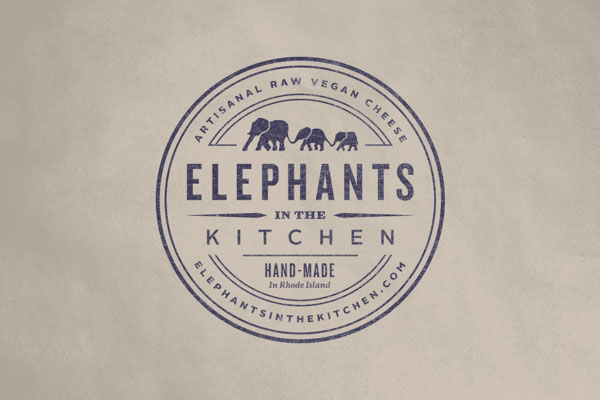Elephants in the Kitchen - Logo by Bluerock Design