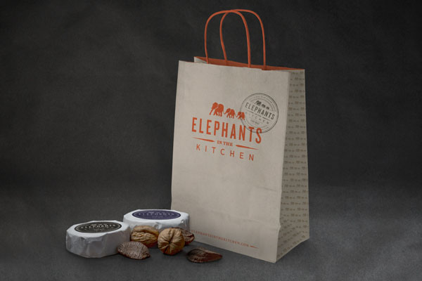 Elephants in the Kitchen - Package Design by Bluerock Design