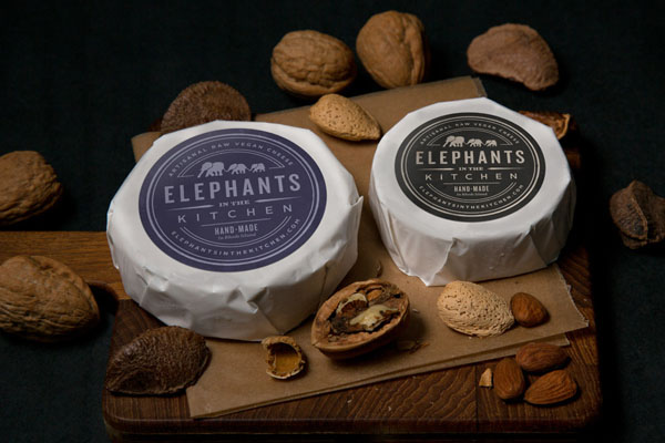 Elephants in the Kitchen - Visual Identity and Packaging by Bluerock Design