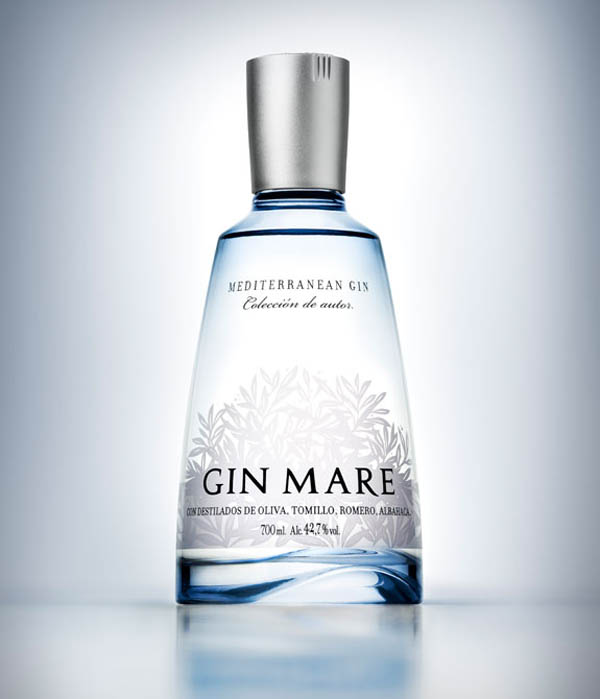 Gin Mare Packaging Design by Seriesnemo