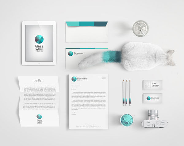 Glasswear Industries Brand Design by Nina Georgieva