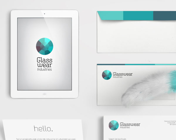 Glasswear Industries Branding by Nina Georgieva