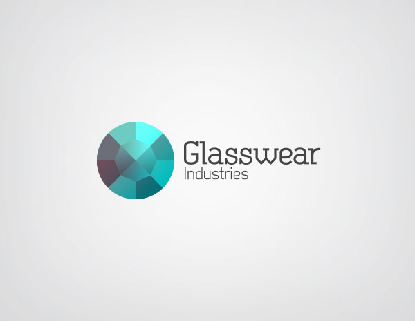 Glasswear Industries Logo Design by Nina Georgieva