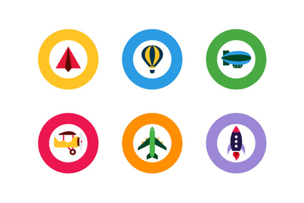 Google Icon Designs by Celeste Prevost