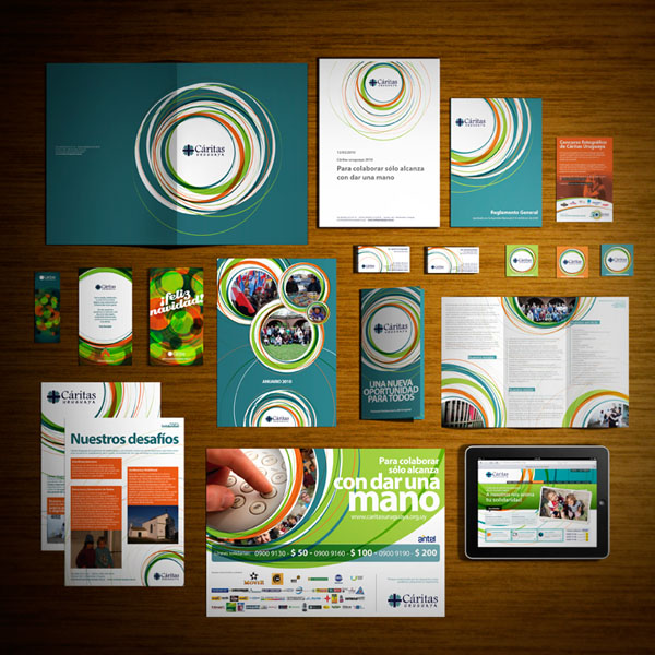Graphic Design And Branding Project By Circo For Caritas