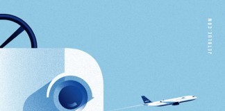 jetBlue Ilustration by Lab Partners for Goodby, Silverstein and Partners