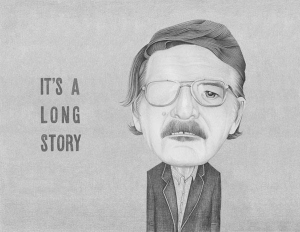 It's a Long Story - Illustration by Helena Frank