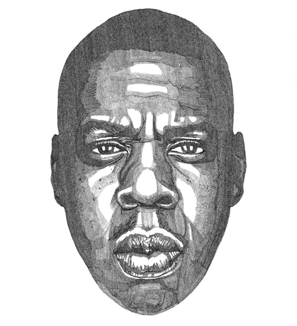 JAY-Z - Drawing by Jacob Everett
