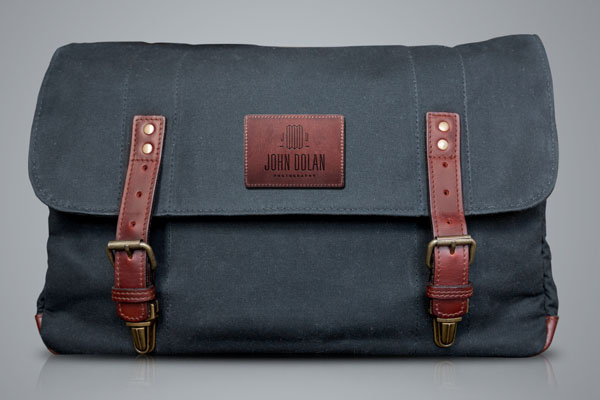 John Dolan Photography Bag Design by Bluerock Design