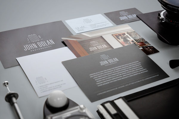 John Dolan Photography Brand Identity by Bluerock Design
