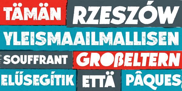 Lito - a grungy bold typeface by Mateusz Machalski