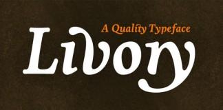 Livory - Serif Type Family by HVD Fonts